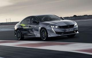 Detalii complete despre Peugeot 508 Sport Engineered: sportiva are sistem plug-in hybrid de 360 de cai putere și autonomie electrică de 42 de kilometri