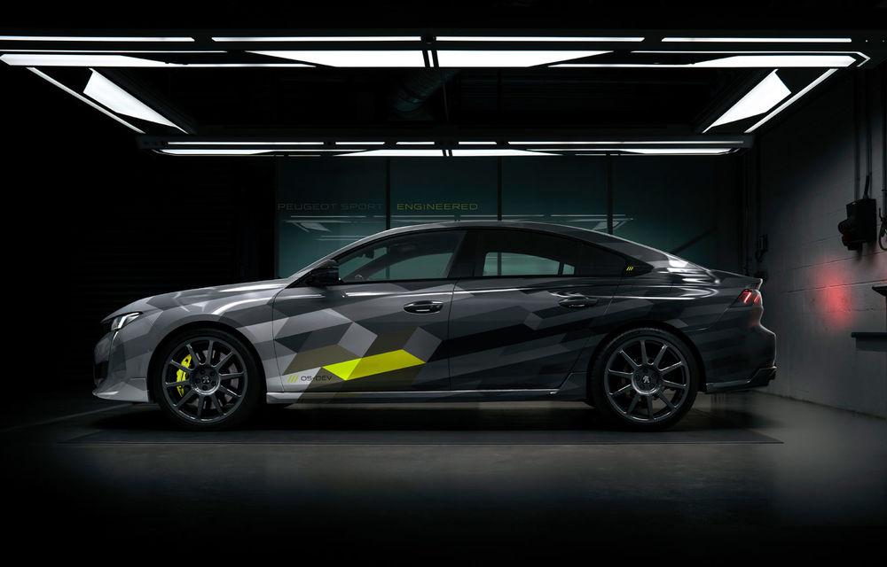 Detalii complete despre Peugeot 508 Sport Engineered: sportiva are sistem plug-in hybrid de 360 de cai putere și autonomie electrică de 42 de kilometri - Poza 2