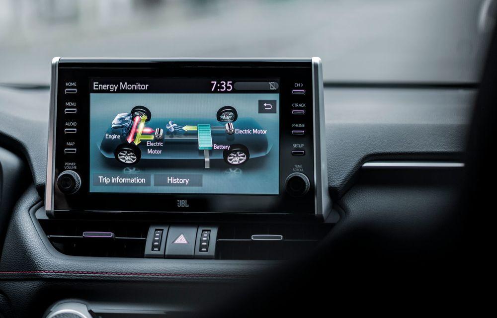 Informații noi despre Toyota RAV4 plug-in hybrid: autonomie electrică de până la 75 de kilometri și 0-100 km/h în doar 6 secunde - Poza 41