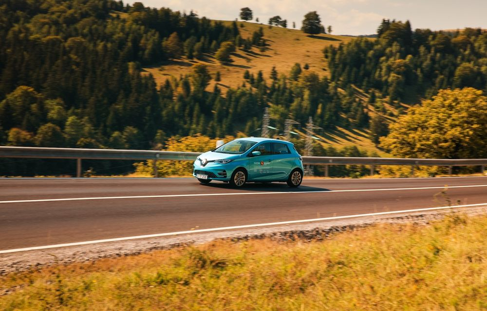 RAPORT FINAL: Renault Zoe în #ElectricRomânia 2020: încărcare, consum, autonomie reală - Poza 13