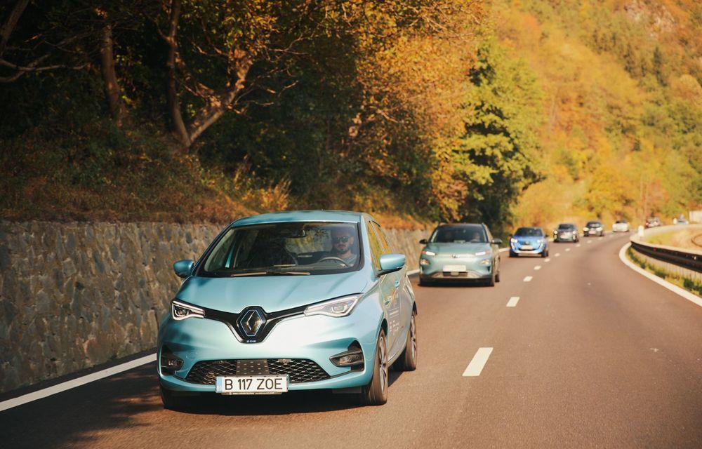 RAPORT FINAL: Renault Zoe în #ElectricRomânia 2020: încărcare, consum, autonomie reală - Poza 6