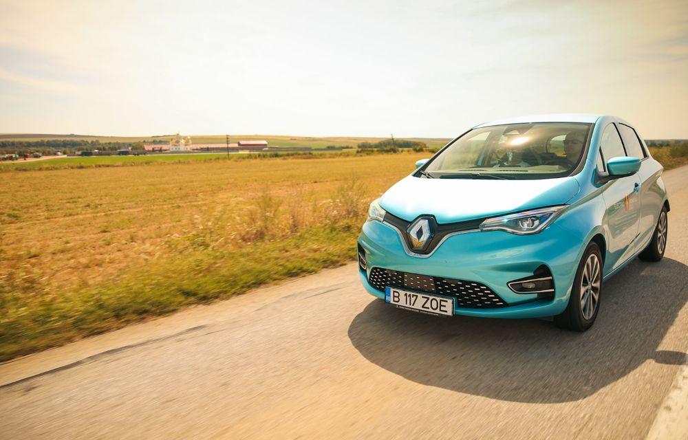 RAPORT FINAL: Renault Zoe în #ElectricRomânia 2020: încărcare, consum, autonomie reală - Poza 3