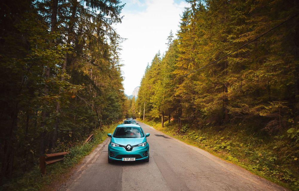 RAPORT FINAL: Renault Zoe în #ElectricRomânia 2020: încărcare, consum, autonomie reală - Poza 14