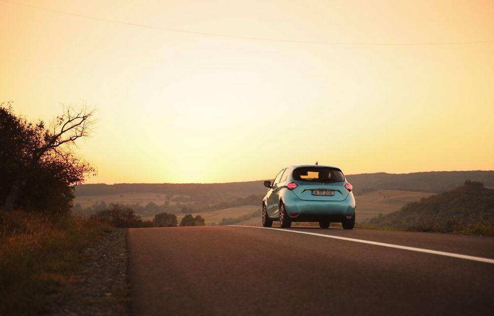 RAPORT FINAL: Renault Zoe în #ElectricRomânia 2020: încărcare, consum, autonomie reală - Poza 22