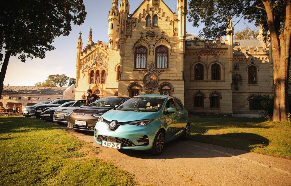 RAPORT FINAL: Renault Zoe în #ElectricRomânia 2020: încărcare, consum, autonomie reală - Poza 16
