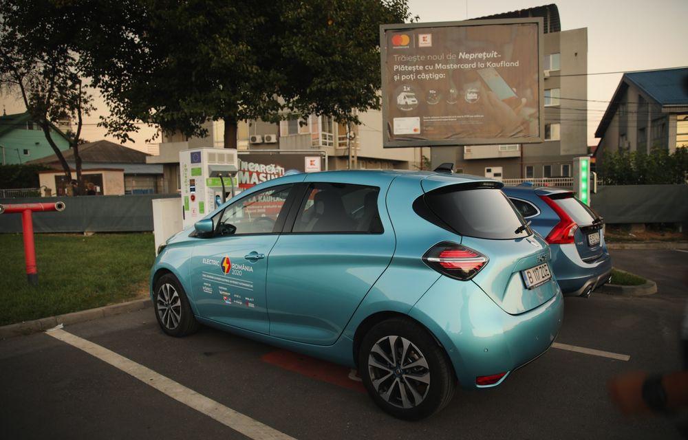 RAPORT FINAL: Renault Zoe în #ElectricRomânia 2020: încărcare, consum, autonomie reală - Poza 25