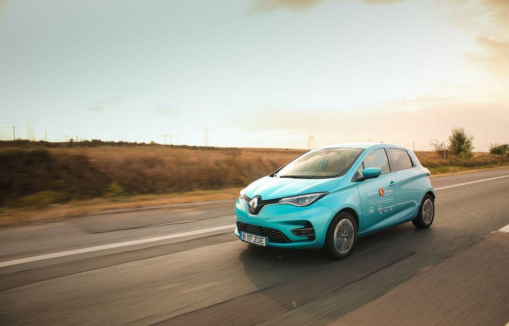 RAPORT FINAL: Renault Zoe în #ElectricRomânia 2020: încărcare, consum, autonomie reală - Poza 4