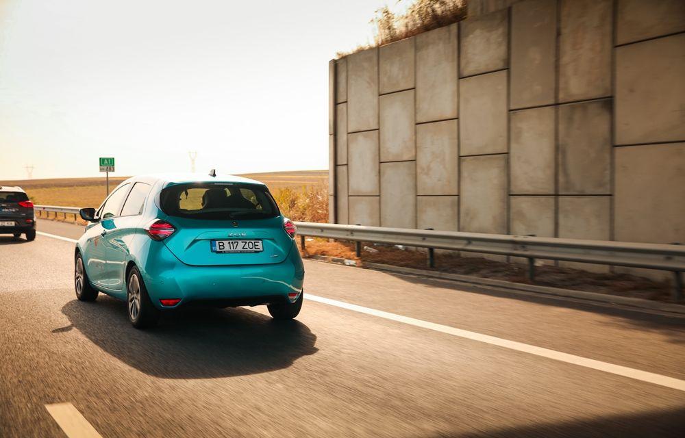 RAPORT FINAL: Renault Zoe în #ElectricRomânia 2020: încărcare, consum, autonomie reală - Poza 26