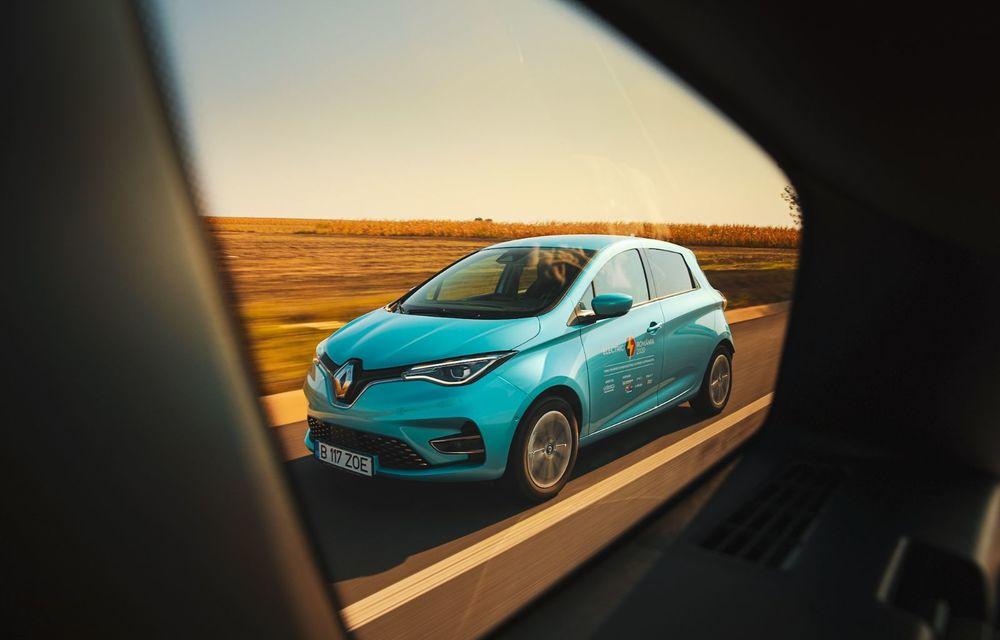 RAPORT FINAL: Renault Zoe în #ElectricRomânia 2020: încărcare, consum, autonomie reală - Poza 8