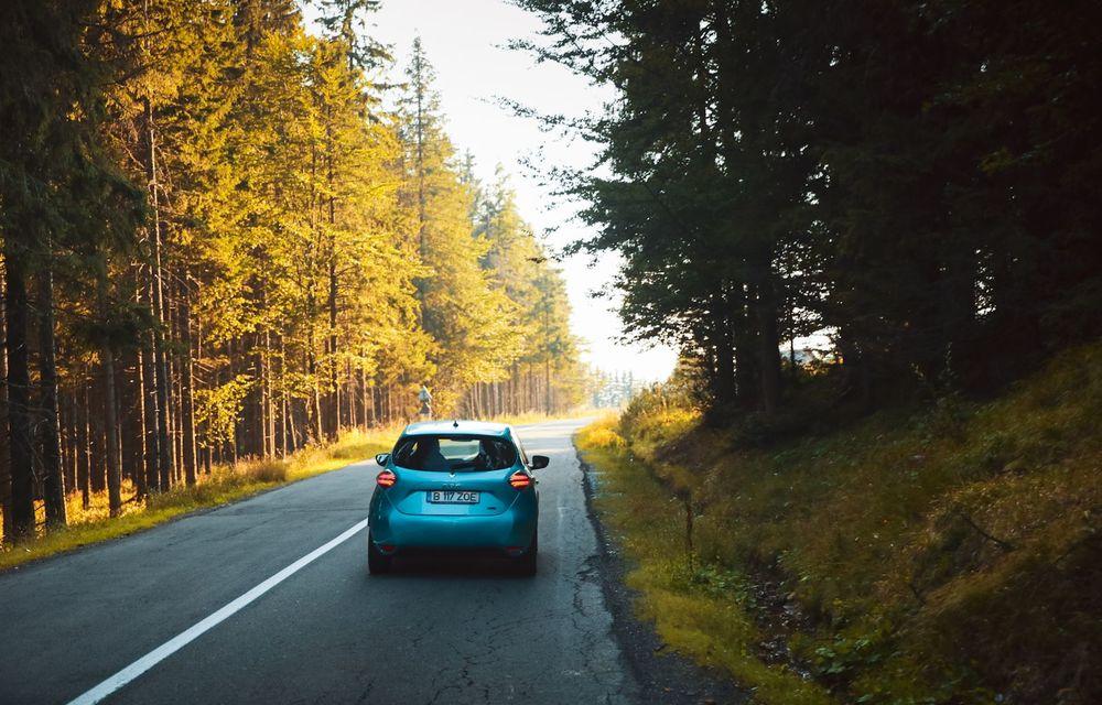 RAPORT FINAL: Renault Zoe în #ElectricRomânia 2020: încărcare, consum, autonomie reală - Poza 27