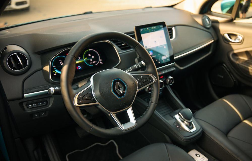 RAPORT FINAL: Renault Zoe în #ElectricRomânia 2020: încărcare, consum, autonomie reală - Poza 30