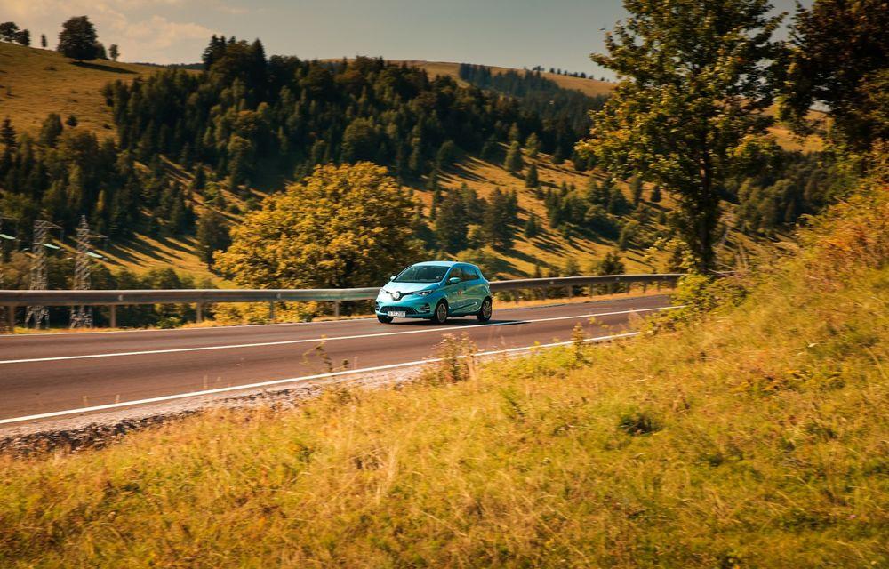 RAPORT FINAL: Renault Zoe în #ElectricRomânia 2020: încărcare, consum, autonomie reală - Poza 12