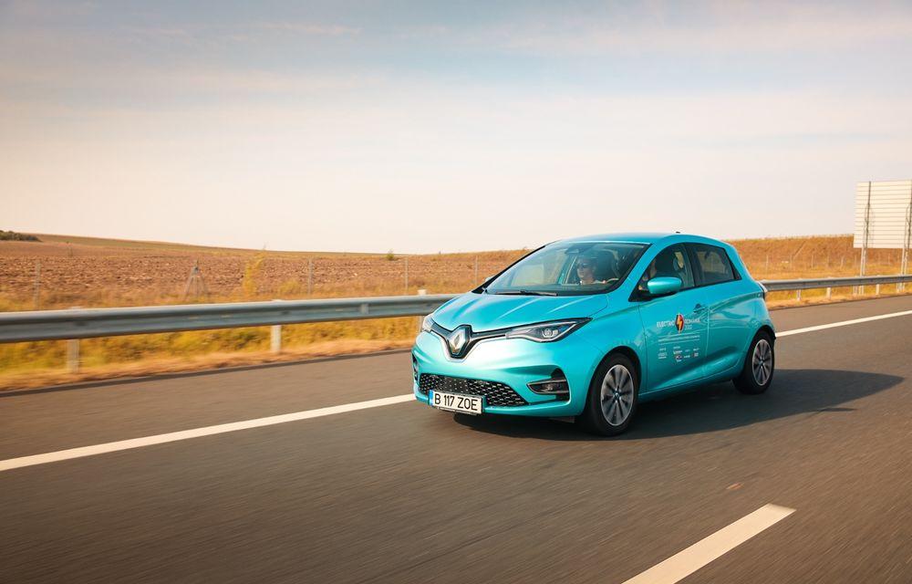 RAPORT FINAL: Renault Zoe în #ElectricRomânia 2020: încărcare, consum, autonomie reală - Poza 5
