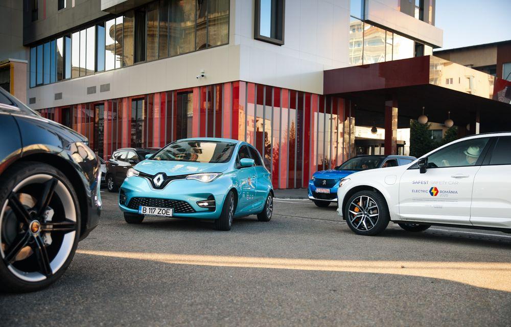 RAPORT FINAL: Renault Zoe în #ElectricRomânia 2020: încărcare, consum, autonomie reală - Poza 21