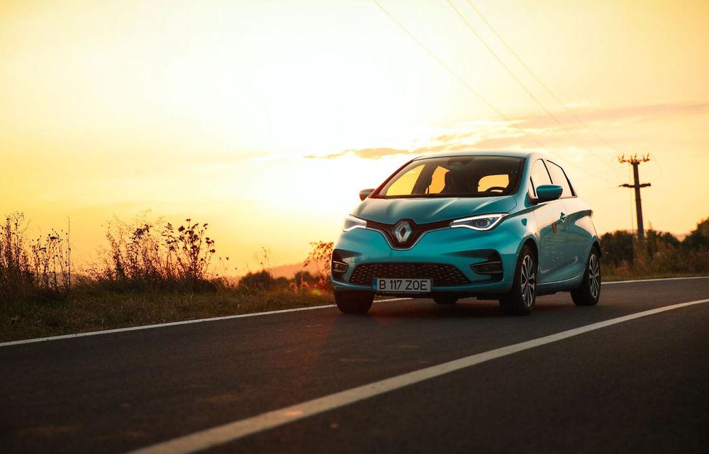 RAPORT FINAL: Renault Zoe în #ElectricRomânia 2020: încărcare, consum, autonomie reală - Poza 1