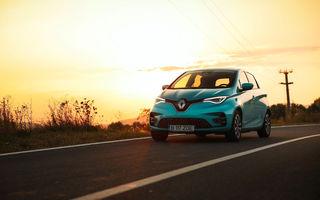RAPORT FINAL: Renault Zoe în #ElectricRomânia 2020: încărcare, consum, autonomie reală