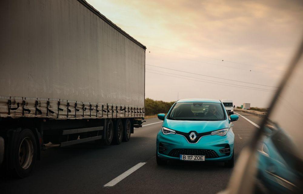 RAPORT FINAL: Renault Zoe în #ElectricRomânia 2020: încărcare, consum, autonomie reală - Poza 2