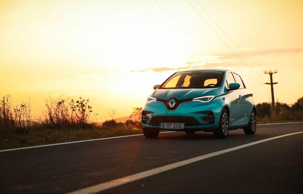 RAPORT FINAL: Renault Zoe în #ElectricRomânia 2020: încărcare, consum, autonomie reală - Poza 20