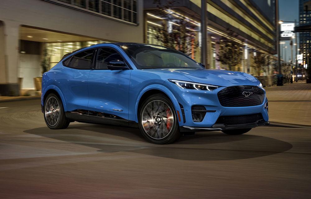Ford Mustang Mach-E GT egalează recordul lui Tesla Model Y pentru cel mai rapid SUV electric din Europa: 3.7 secunde pentru intervalul 0-100 km/h - Poza 1