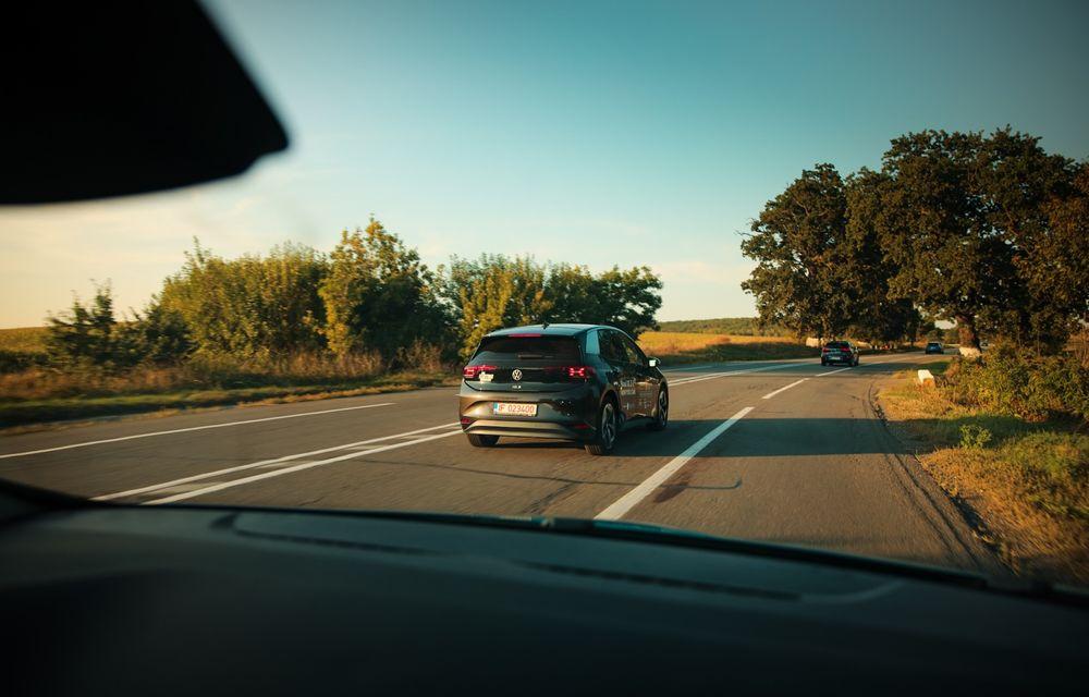 RAPORT FINAL: Volkswagen ID.3 în #ElectricRomânia 2020: încărcare, consum, autonomie reală - Poza 28
