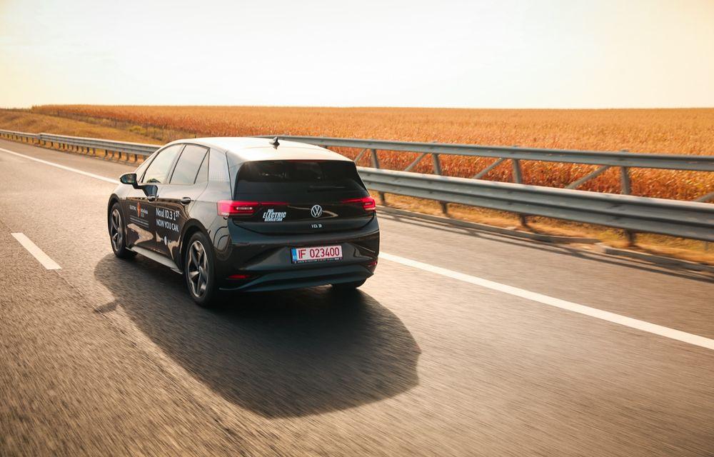 RAPORT FINAL: Volkswagen ID.3 în #ElectricRomânia 2020: încărcare, consum, autonomie reală - Poza 23