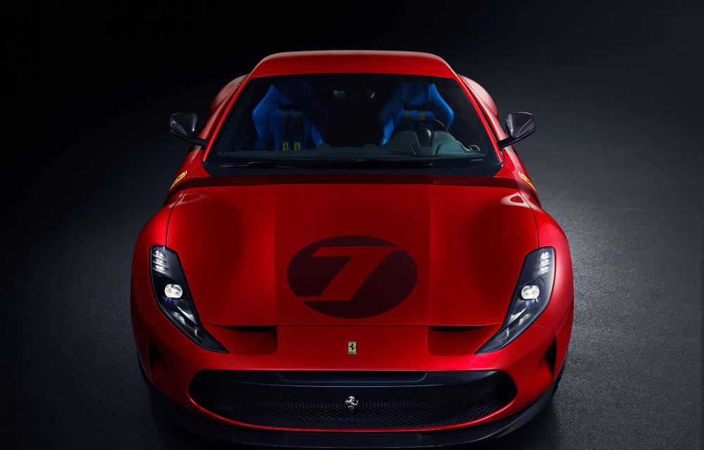 Ferrari Omologata: italienii au realizat un supercar unicat bazat pe 812 Superfast cu motor V12 de 800 de cai putere - Poza 2