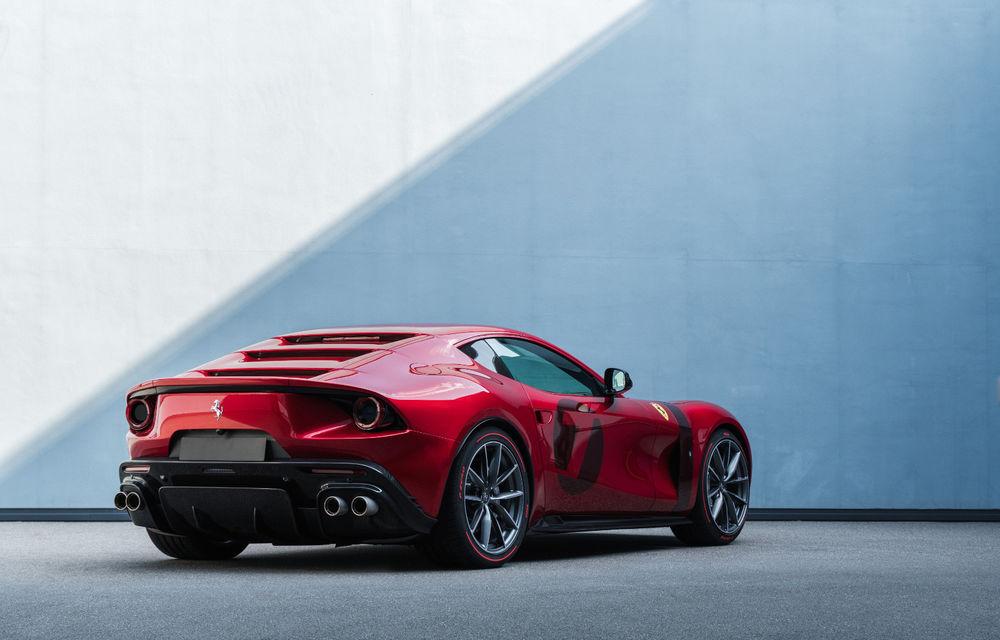 Ferrari Omologata: italienii au realizat un supercar unicat bazat pe 812 Superfast cu motor V12 de 800 de cai putere - Poza 5