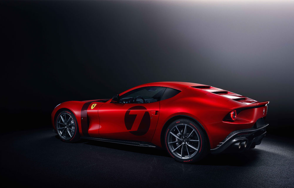 Ferrari Omologata: italienii au realizat un supercar unicat bazat pe 812 Superfast cu motor V12 de 800 de cai putere - Poza 3