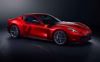 Ferrari Omologata: italienii au realizat un supercar unicat bazat pe 812 Superfast cu motor V12 de 800 de cai putere