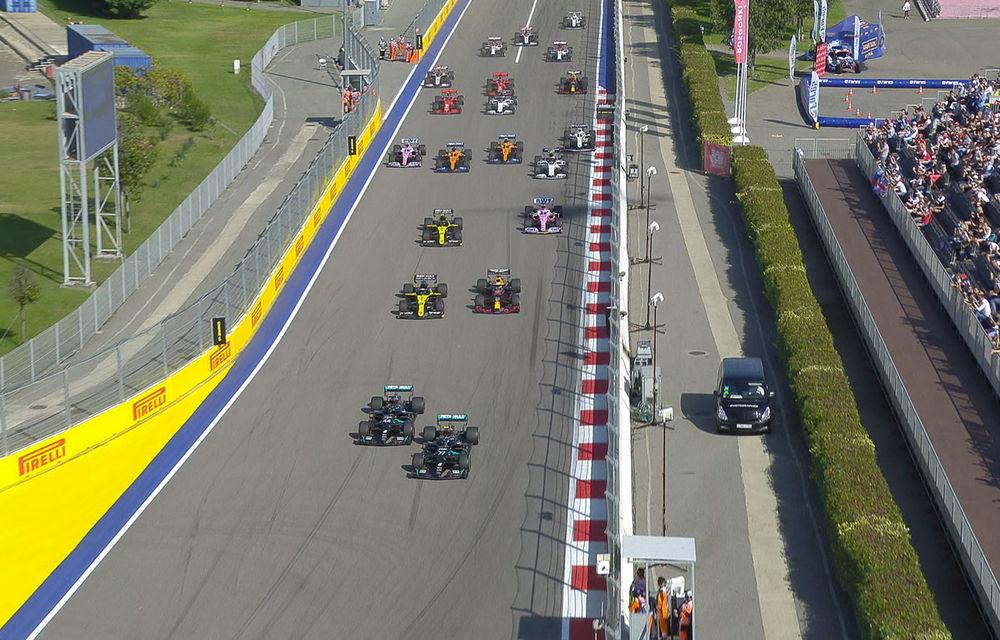 Bottas a câștigat cursa din Rusia în fața lui Verstappen! Hamilton, locul 3 după o penalizare de 10 secunde - Poza 1