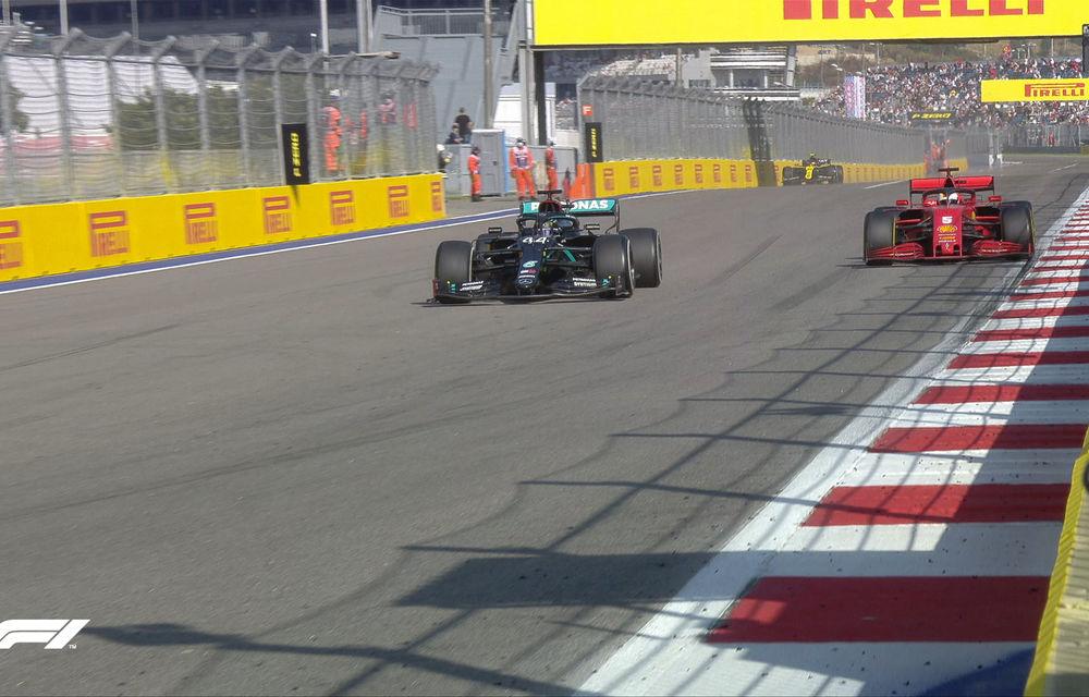 Bottas a câștigat cursa din Rusia în fața lui Verstappen! Hamilton, locul 3 după o penalizare de 10 secunde - Poza 5