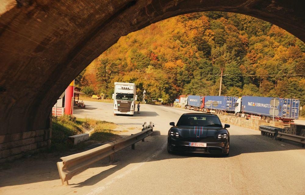 RAPORT FINAL: Porsche Taycan în #ElectricRomânia 2020: încărcare, consum, autonomie reală - Poza 29