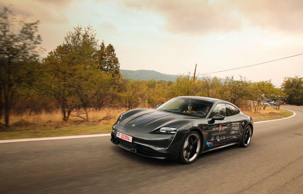 RAPORT FINAL: Porsche Taycan în #ElectricRomânia 2020: încărcare, consum, autonomie reală - Poza 39