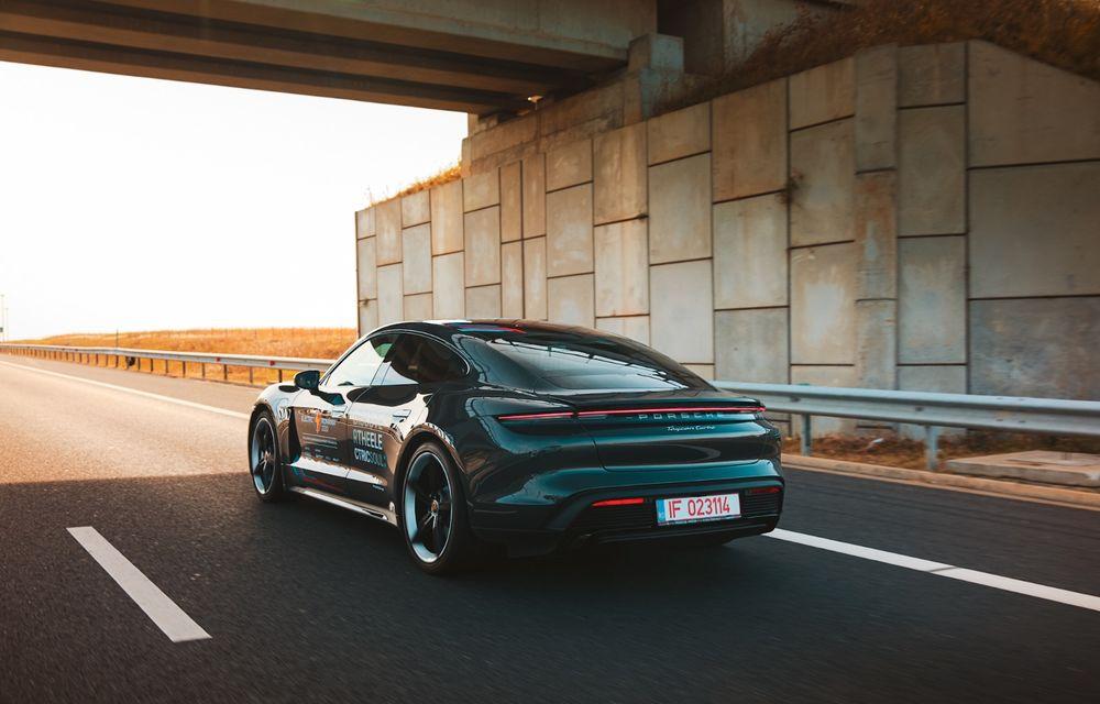 RAPORT FINAL: Porsche Taycan în #ElectricRomânia 2020: încărcare, consum, autonomie reală - Poza 34