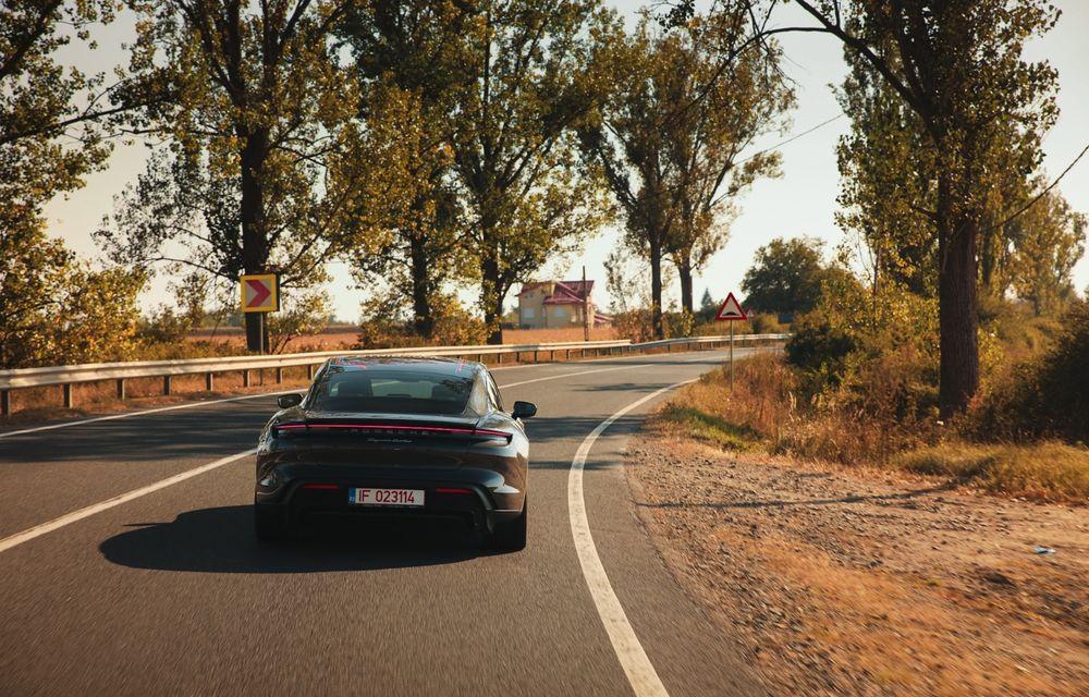 RAPORT FINAL: Porsche Taycan în #ElectricRomânia 2020: încărcare, consum, autonomie reală - Poza 28