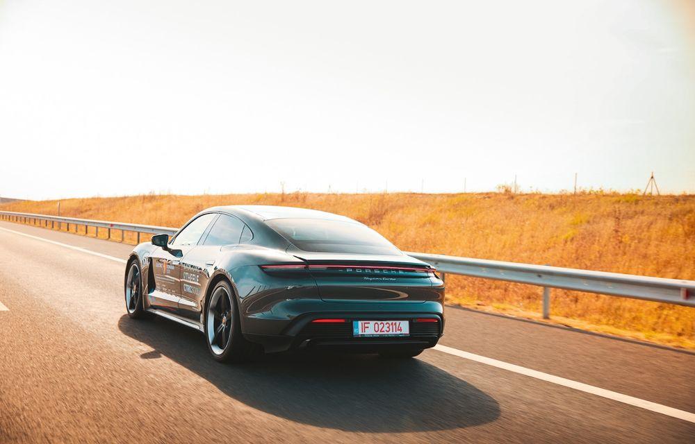 RAPORT FINAL: Porsche Taycan în #ElectricRomânia 2020: încărcare, consum, autonomie reală - Poza 4