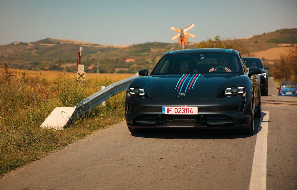 RAPORT FINAL: Porsche Taycan în #ElectricRomânia 2020: încărcare, consum, autonomie reală - Poza 45