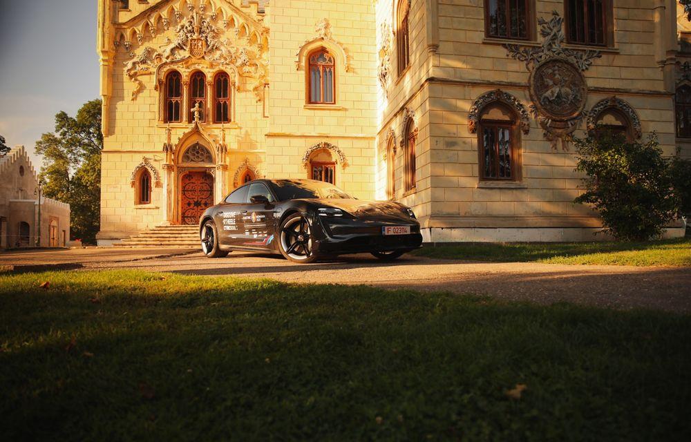 RAPORT FINAL: Porsche Taycan în #ElectricRomânia 2020: încărcare, consum, autonomie reală - Poza 42