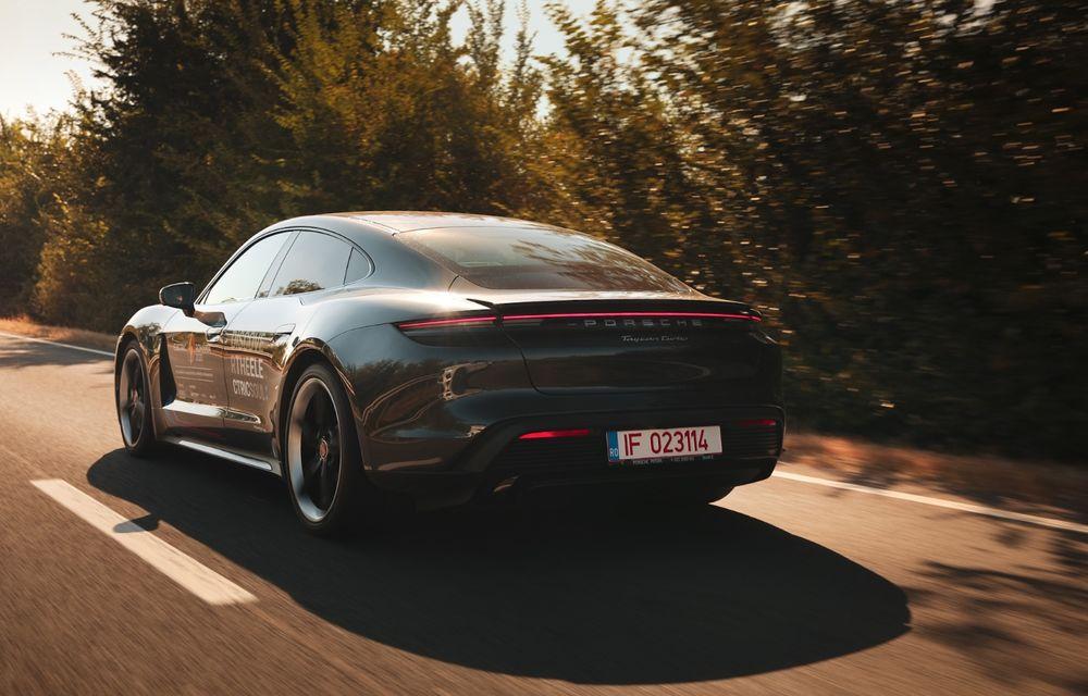 RAPORT FINAL: Porsche Taycan în #ElectricRomânia 2020: încărcare, consum, autonomie reală - Poza 14