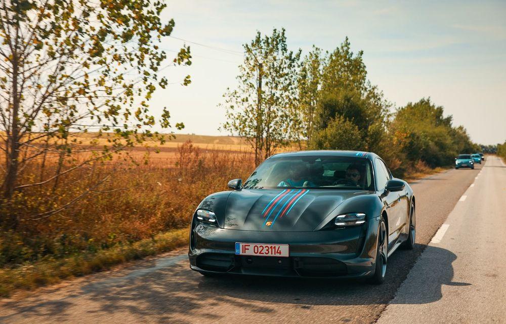 RAPORT FINAL: Porsche Taycan în #ElectricRomânia 2020: încărcare, consum, autonomie reală - Poza 30