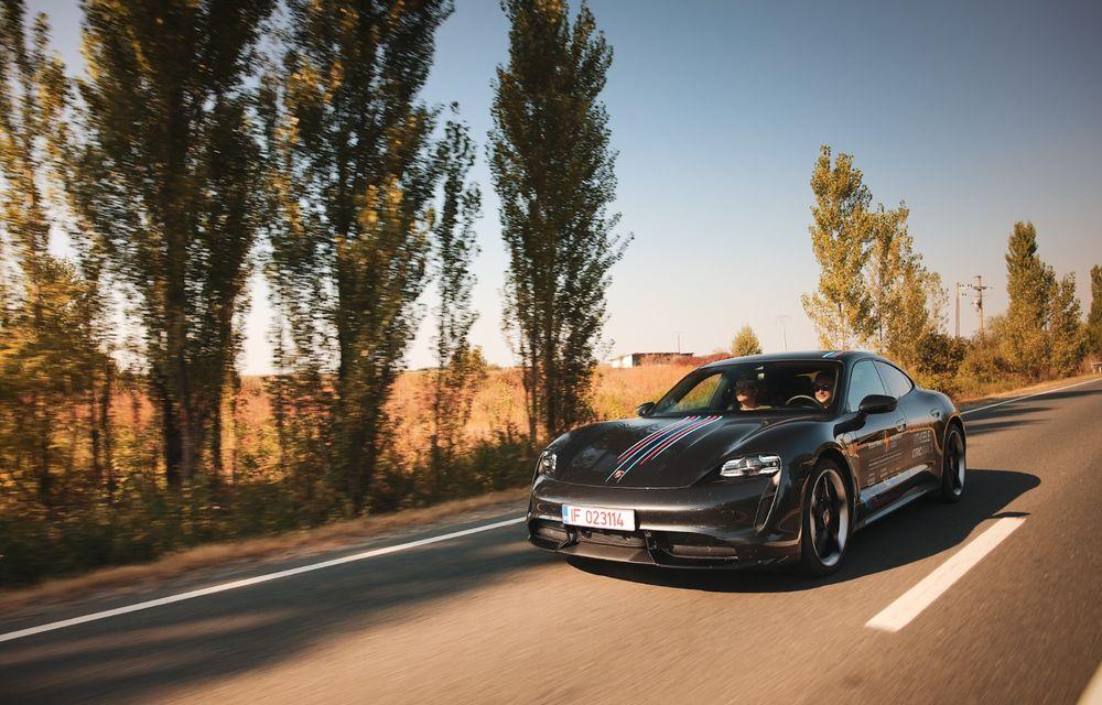 RAPORT FINAL: Porsche Taycan în #ElectricRomânia 2020: încărcare, consum, autonomie reală - Poza 8