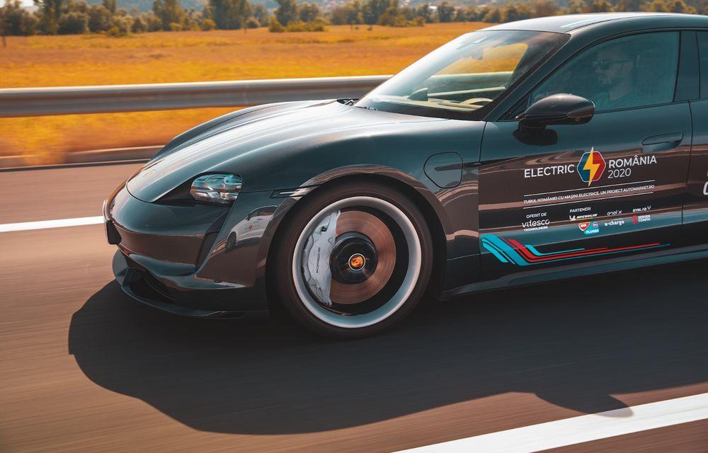 RAPORT FINAL: Porsche Taycan în #ElectricRomânia 2020: încărcare, consum, autonomie reală - Poza 15