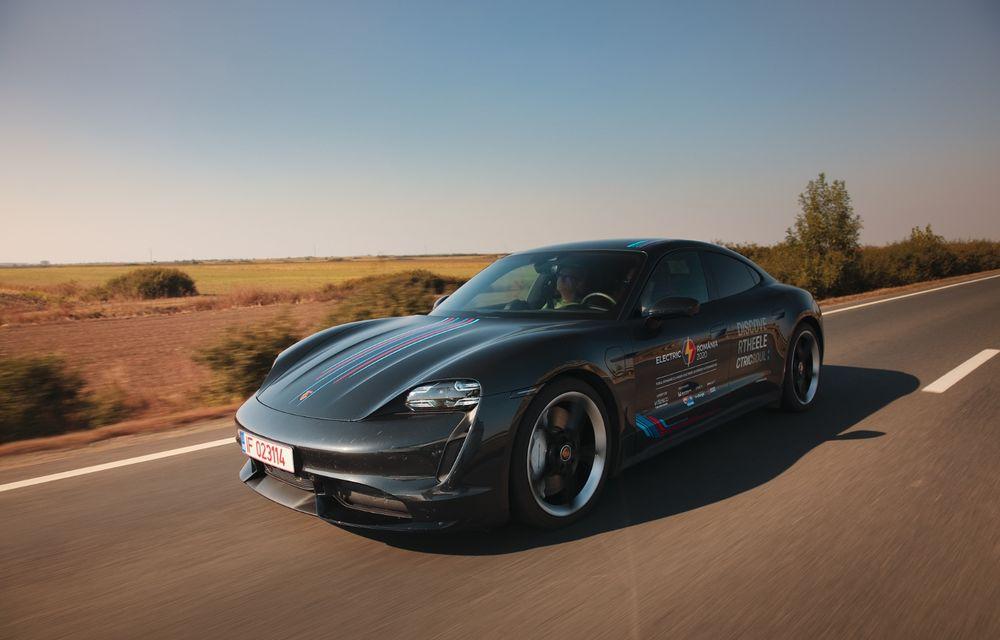 RAPORT FINAL: Porsche Taycan în #ElectricRomânia 2020: încărcare, consum, autonomie reală - Poza 25