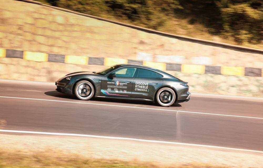RAPORT FINAL: Porsche Taycan în #ElectricRomânia 2020: încărcare, consum, autonomie reală - Poza 22