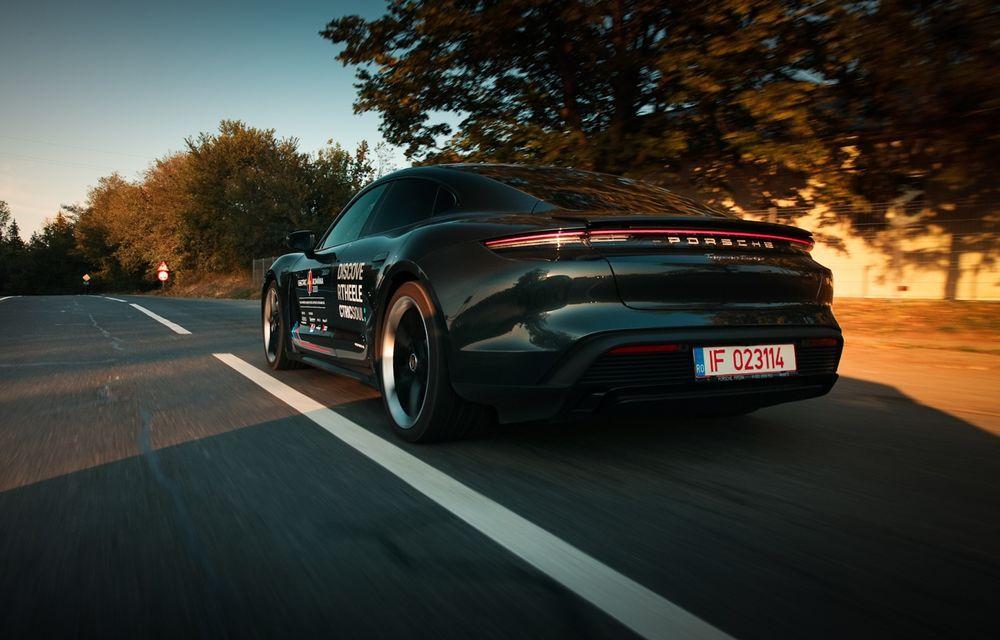 RAPORT FINAL: Porsche Taycan în #ElectricRomânia 2020: încărcare, consum, autonomie reală - Poza 9