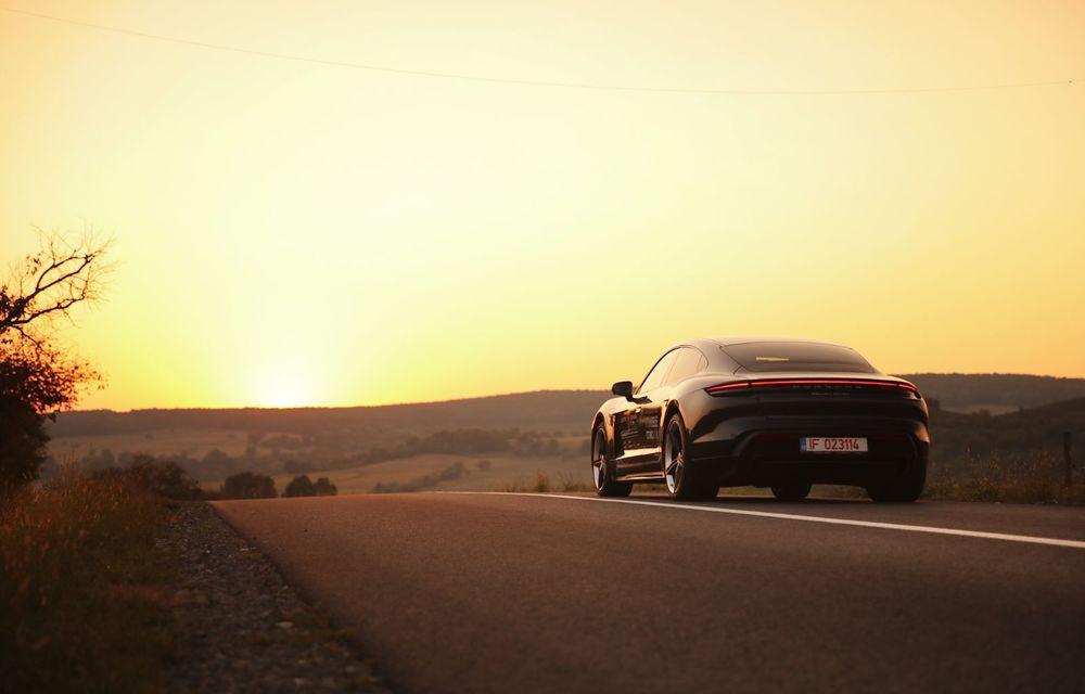 RAPORT FINAL: Porsche Taycan în #ElectricRomânia 2020: încărcare, consum, autonomie reală - Poza 43