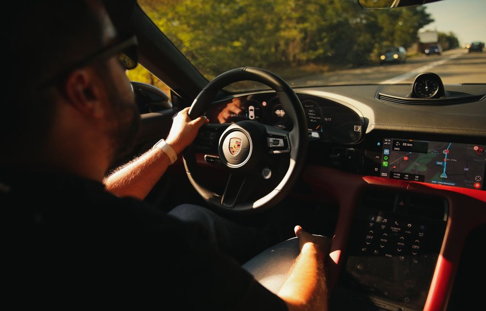 RAPORT FINAL: Porsche Taycan în #ElectricRomânia 2020: încărcare, consum, autonomie reală - Poza 18