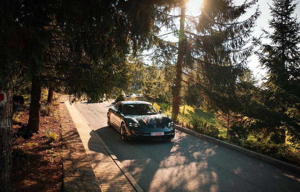 RAPORT FINAL: Porsche Taycan în #ElectricRomânia 2020: încărcare, consum, autonomie reală - Poza 31