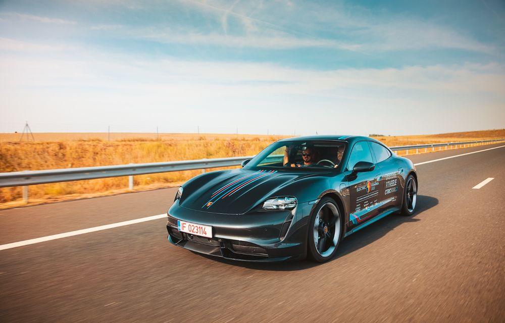 RAPORT FINAL: Porsche Taycan în #ElectricRomânia 2020: încărcare, consum, autonomie reală - Poza 2