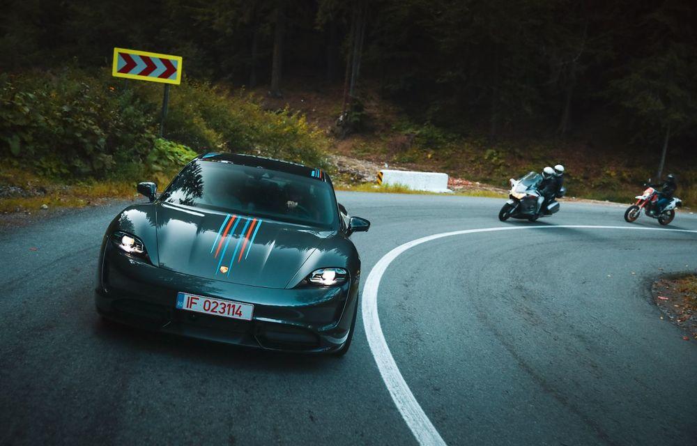 RAPORT FINAL: Porsche Taycan în #ElectricRomânia 2020: încărcare, consum, autonomie reală - Poza 40